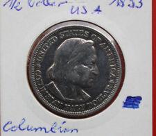 USA-Amerika: 1 x Columbian Exposition Half 1/2 Dollar 1893, KM# 115, #F0511
