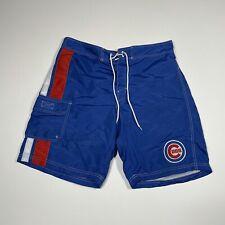 New listing MLB Genuine Merchandise Men's XL Blue Chicago Cubs Lined Swim Trunks
