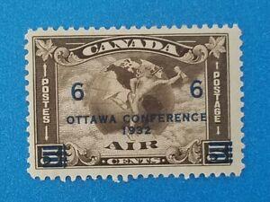 Canada Scott #C4 MVLH well centered good original gum. Good colors, perfs.