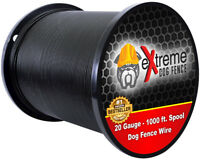 Heavy Duty Compatible Electric Dog Fence Boundary-20 Gauge - 1000'