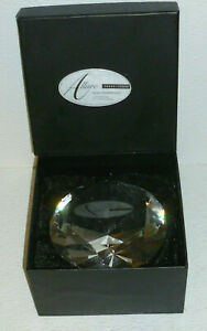 """Torre And Tagus Glass Paperweight Large Diamond Shape NEW In Box Allure 4.5"""""""