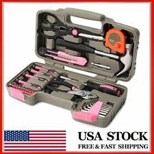 39PCS Pink Repair Household Tool...