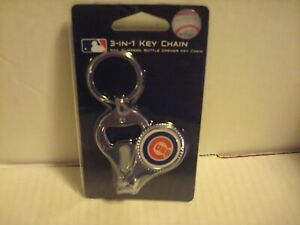 MLB Chicago Cubs  3 In 1 Key chain,Nail Clippers & Bottle Opener (NEW)