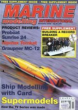MARINE MODELLING INTERNATIONAL MAGAZINE 2002 NOV RIPMAX TOMKAT GRAUPNER MC-12