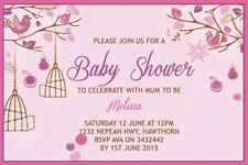 Baby Shower Greeting Announcements