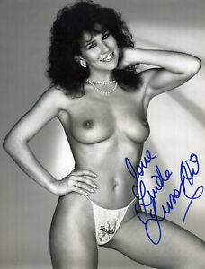 LINDA LUSARDI Signed Photograph - Beautiful Actress Model - Art preprint
