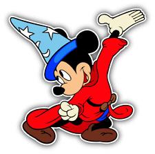 Mickey Mouse Magic Cartoon Car Bumper Sticker Decal 5'' x 5''