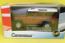 Cararama 1.43 Land Rover New Discovery in Maroon and White