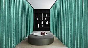 Room Divider/Partition Cotton Velvet Curtain-Super Dense & Thick-Double Sided
