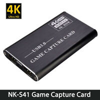NK-S41 Game Capture Card USB3.0 Capture HDMI-Compatible 4Kp60 for PS4/Switch