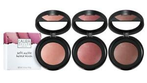 Laura Geller Soft Matte Baked Blushers - 3 shades, Peony Cherry Rose BOXED