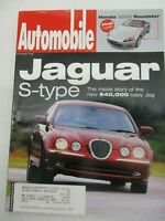 AUTOMOBILE MAGAZINE DECEMBER 1998 JAGUAR S TYPE HONDA S2000 ROADSTER CAR REVIEW