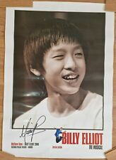 More details for rare billy elliot the musical special edition hand signed matthew koon poster
