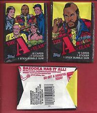 1983 Topps A Team single Wax Pack