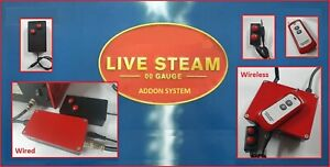 Hornby Live Steam Deluxe Wired & Wireless Addon Controllers