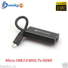 11pin Mini Micro USB 2.0 MHL To HDMI Cable HD 1080P FOR SAMSUNG GALAXY S3 S4 S5