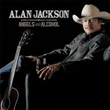 ALAN JACKSON ANGELS AND ALCOHOL CD NEW