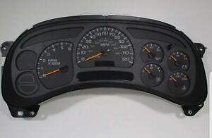 2003 2004 Chevy Silverado GMC Sierra 1500 Light Duty Rebuilt Cluster *Programmed