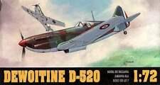 DEWOITINE D-520 (ARME DE L'AIR/FENCH AF MKGS) ! HALF PRICE ! 1/72 GOMIX