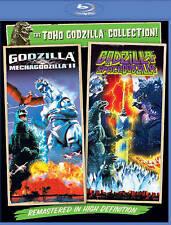 Godzilla vs. Mechagodzilla II/Godzilla vs. Spacegodzilla (Blu-ray Disc) - NEW!!
