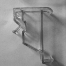 Clear Valance Clips for Window Blinds (2 Pack)