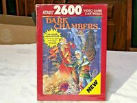 DARK CHAMBERS - FACTORY SEALED BOX-  ATARI 2600 & USE ON 7800 SYSTEMS, NOS