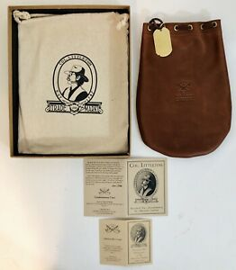 Col. Littleton No. 3 Possibles Bag – LARGE - Brown - NEW WITH TAGS