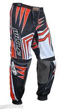 "New Wulfsport Orange Sz 38"" Motocross Enduro Pants Quad Trousers Ktm Sx Exc Xcf"