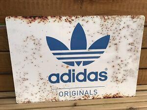 Adidas Originals Rustic Style Metal Sign