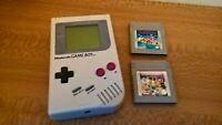 Game Boy Nintendo DMG-01 with 6 games (Supermarioland  & Gameboy gallery) Mario
