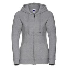 Russell Womens Authentic Zipped Hooded Sweatshirt