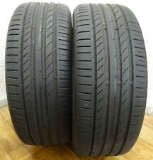 2 CONTINENTAL 225/45 R19 96W 6 mm Sport Contact 5 XL Sommerreifen DOT0717 PAAR