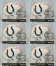 INDIANAPOLIS COLTS - Riddell Speed Mini Helmet (6 PACK LOT)