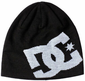 DC Big Star Beanie - Black - New