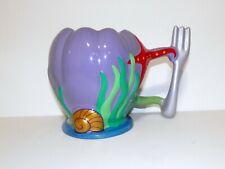Disney Little Mermaid Ariel Coffee Mug Dinglehopper Handle NEW + 30 days to pay