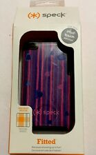 Speck Fitted Case -Plaid Heart Stripe Pink/Blue for iPod Touch 4G #SPK-A0643