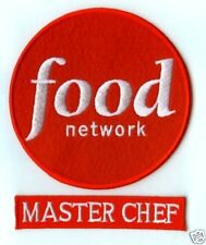 FOOD NETWORK MASTER CHEF FANCY DRESS HALLOWEEN COSTUME PARTY YOUR 2-PATCH SET