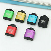 Portable High Speed USB 2.0 Micro SD TF T-Flash Memory Card Reader Adapter