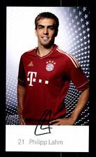 Philipp Lahm Autogrammkarte Bayern München 2011-12 Original Signiert+ C 2659