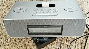 ihome iP87 Universal Dock Alarm Clock Radio New In Box NIB iPhone 4.b No Remote