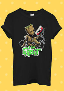 C176 Baby Groot Guardians Of The Galaxy T Shirt