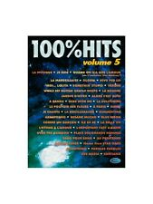 100% Hits Volume 5 Learn to Play Present Gift MUSIC BOOK Piano Vocal & Guitar