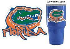 "UF Florida Gators Graffiti YETI Tumbler Car 3.5"" Premium Die-Cut Vinyl Decal"