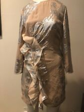 GORGEOUS PREOWNED SELF PORTRAIT  DRESS SIZE US 2 !!! CLARAZO