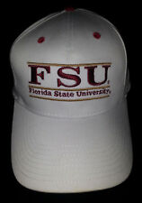 FSU Seminoles Florida State University  Snapback Hat Cap The Game White