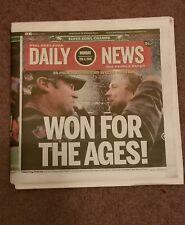 Philadelphia Eagles Super Bowl LII Champs Champions Daily News Newspaper 2/5/18