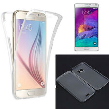 Funda silicona transparente delantera Tactil y trasera para Samsung Galaxy S7
