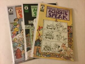 Segio Argones Action Speaks 1 4 6 Vf Very Fine 8.0 Dark Horse Comics
