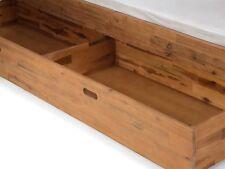 Bettkasten Schubkasten Aufbewahrung Bett massiv Holz Akazie NEU SALOMON
