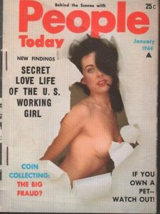People Today January 1964 Terry Higgins Cheesecake Pin Up Digest 011719AME